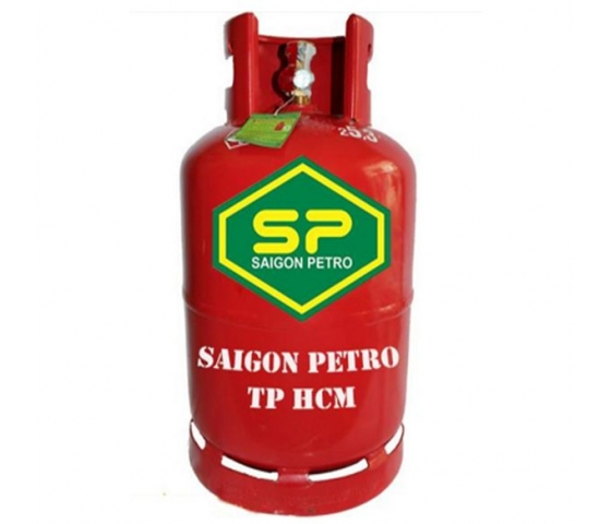Gas Saigon Petro đỏ 12kg